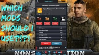 Mobile Strike Helping Subscriber With Gear & Mods LET'S BOOST THOSE STATS!