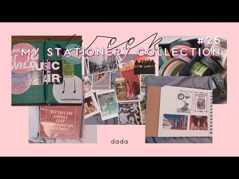 WEEKLY VLOG + 문구 컬렉션 MY STATIONERY COLLECTION