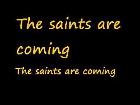 U2 feat. Green Day-The saints are coming (Lyrics)