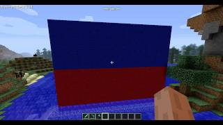 The Flag of Haiti Minecraft