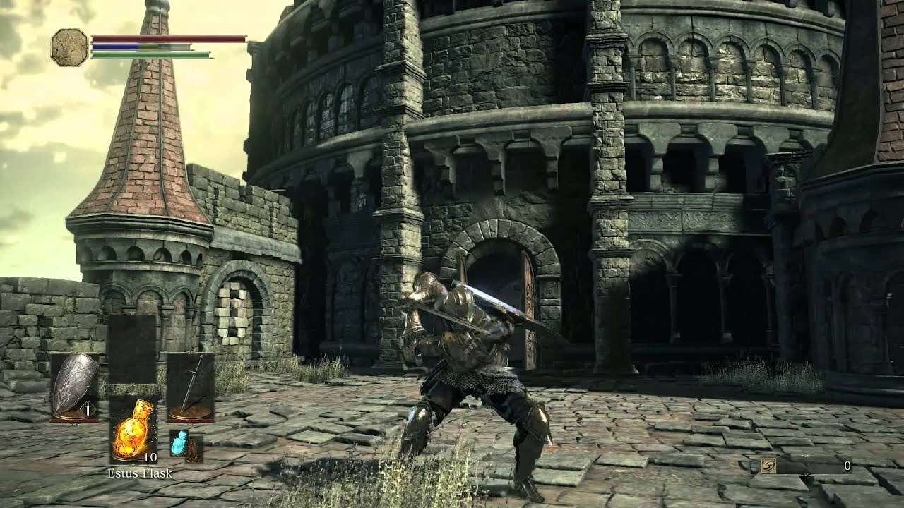 Dark Souls III Network Test, Long Sword Moveset and Ember Use ...