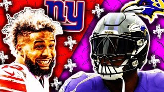 🁢 2016 🁢 BAL Ravens @ NYG Giants 🁢 Week 6 🁢 Odell 222 YDS