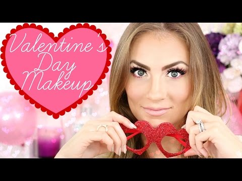 Valentine's Day Soft Glam Makeup Tutorial | Easy Romantic Date Night Look