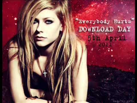 Avril Lavigne - Everybody Hurts - DOWNLOAD DAY