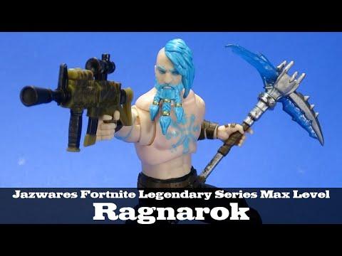 Fortnite Ragnarok Jazwares Legendary Series Max Level Action Figure Review