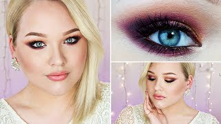 picture perfect for prom colored glamour  makeup tutorial