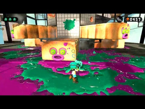 Splatoon 2 Campaign - Gameplay/Commentary [Part 2] - A Colour Splash of Big Bread Bosses!