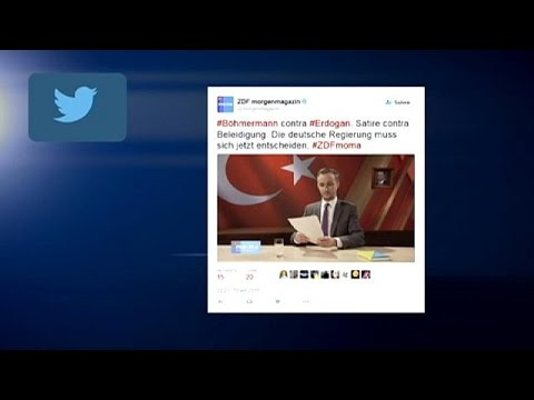 German Prosecutors Probe Tv Satirist Who Insulted Turkeys Erdoğan