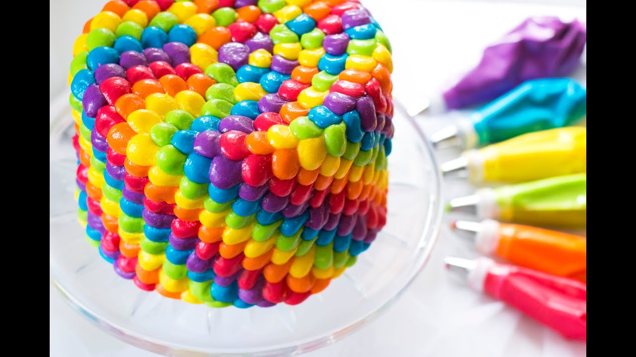 The Best Rainbow Cake Recipe