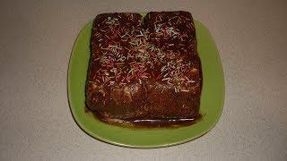 Ленивый тортик из печенья, творога и сгущенки