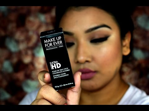 Review/First Impression/Demo: Makeup Forever Ultra HD Foundation Cover Stick Y405