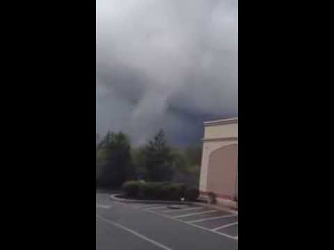 Tornado in Stoughton Ma