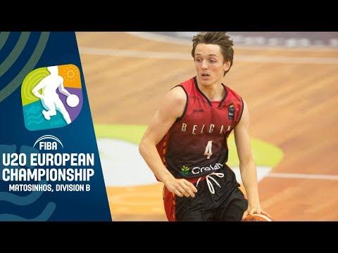 Belgium v Luxembourg - Full Game - FIBA U20 European Championship Division B 2019