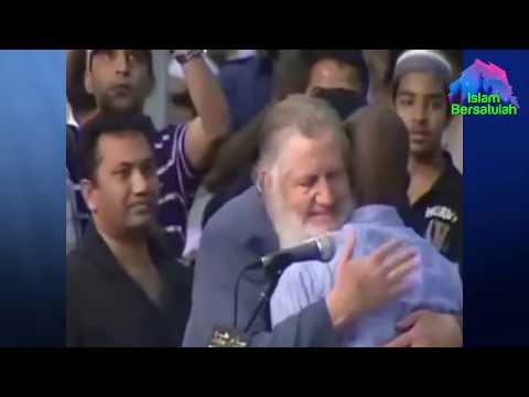 Siapkan Tisu 😭 Prosesi Masuk Islam Kedua Orang Ini Menguras Air Mata 😭 Syekh Yusuf Estes-Sub Indo