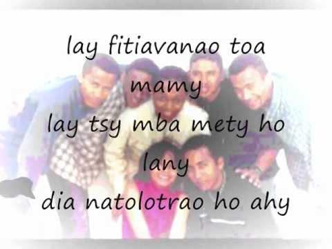 Tsy Ho Any Intsony Aho 'Zay