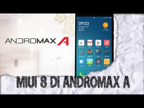 Pasang MIUI 8 di Andromax A