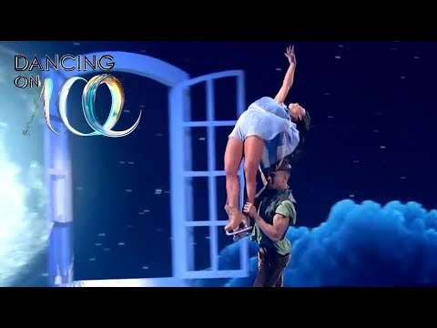 Peter Pan Does the Headbanger... Oh Wait, It's Wes! | Dancing on Ice 2019