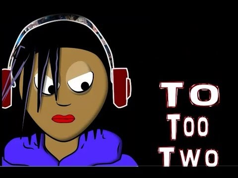 To Too Two Song (animated) Learn By Lyrics Homophones