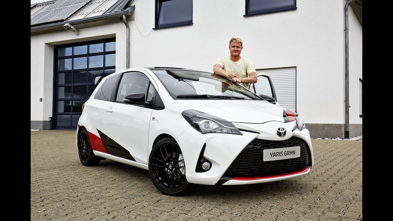New Toyota Yaris Grmn At The Nordschleife Green Hell