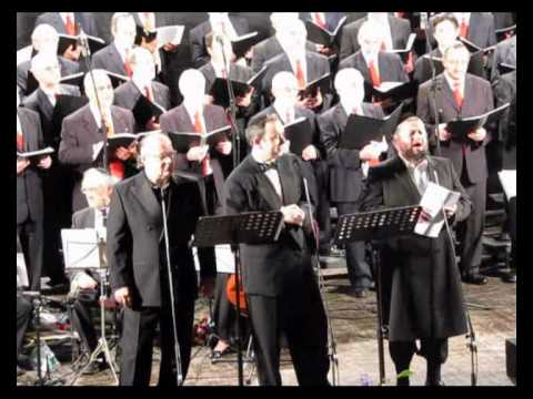 Cantors Helfgot, Simon Cohen, Colin Shachat sing Sheyiboneh with Ramatayim Choir