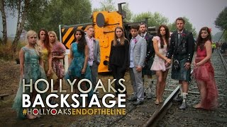 #HollyoaksEndOfTheLine: Behind The Scenes