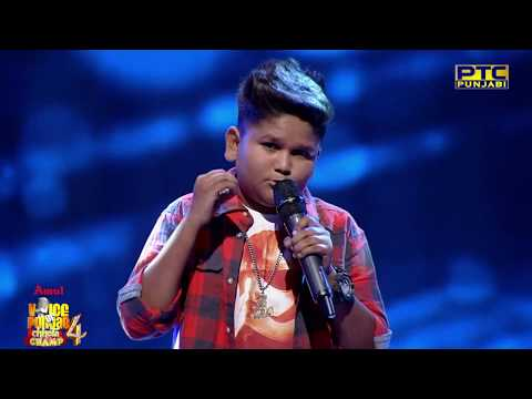 Haricharanpreet | Karma Nu Tu Milgi | Semifinal 03 | Voice Of Punjab Chhota Champ 4