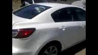 Покраска авто в белый жемчуг(ксералик или белый металлик или 3-х слойка)(покраска MAZDA 3 в белый жемчуг., 2013-08-11T07:42:39.000Z)