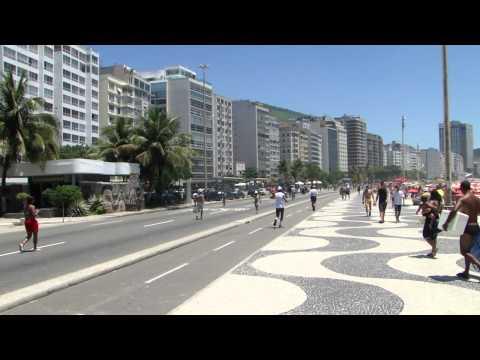 Rio de Janeiro - Praia de Copacabana - 09-01-2011