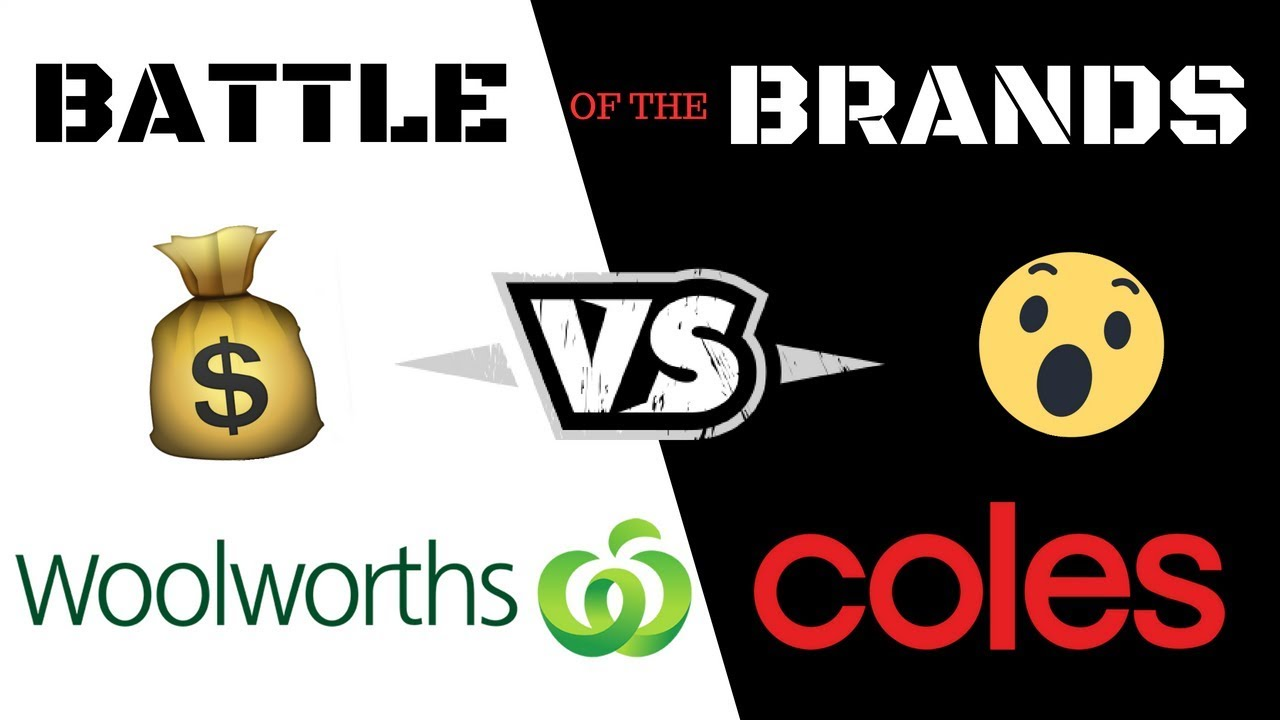 COLES VS WOOLWORTHS - WHO'S CHEAPER???   Battle of the brands 2018
