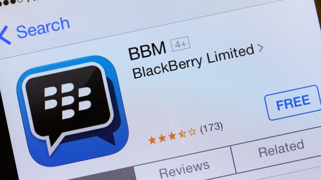 BlackBerry Messenger -...