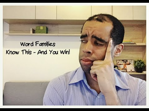 TOEIC: Grammar - Word Families (Know This & You Can Dominate The Grammar Section)