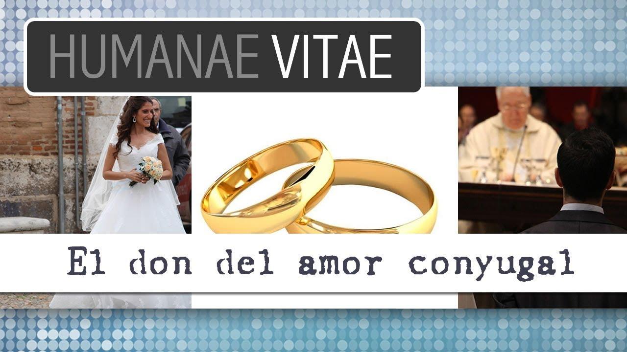 Humanae Vitae: el don del amor conyugal 6/12 - YouTube
