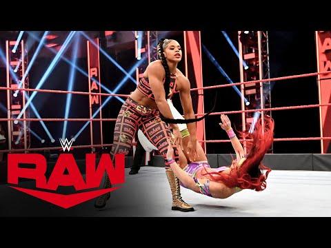 Bianca Belair vs. Santana Garrett: Raw, April 20, 2020