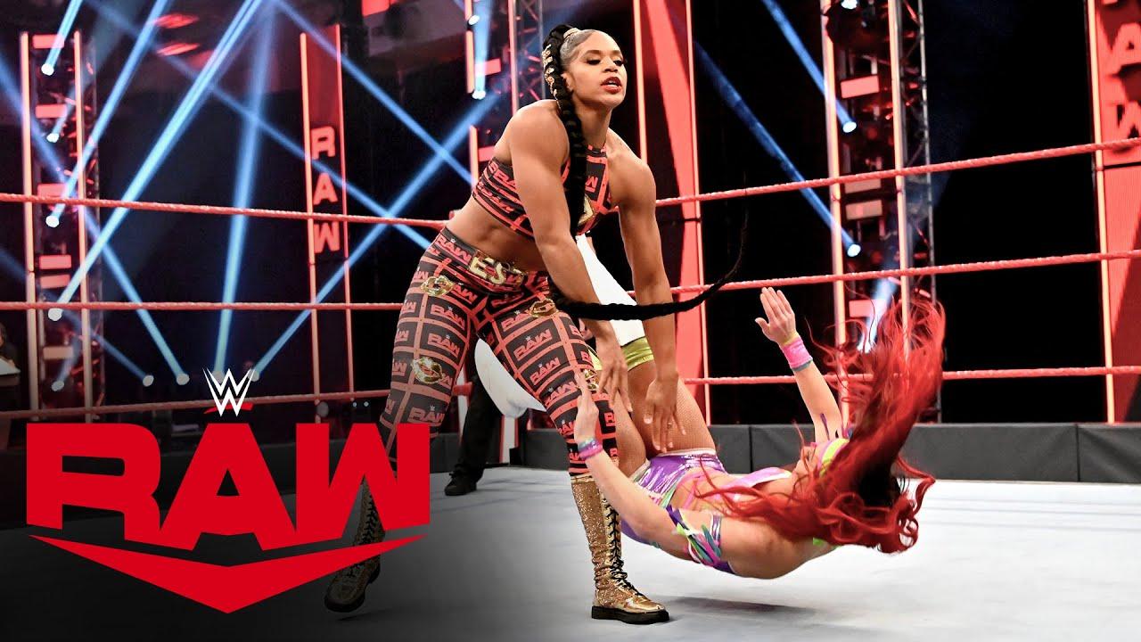 Download Bianca Belair vs. Santana Garrett: Raw, April 20, 2020