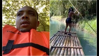 G Herbo Gets Lost On Jungle Cruise With Girlfriend Fabolous Daughter