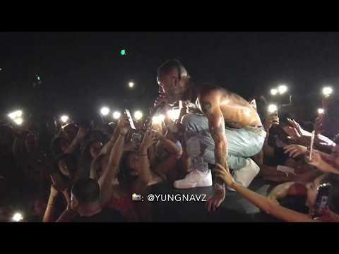 Wiz Khalifa - Fr Fr ft. Lil Skies LIVE (shot by @yungnavz)