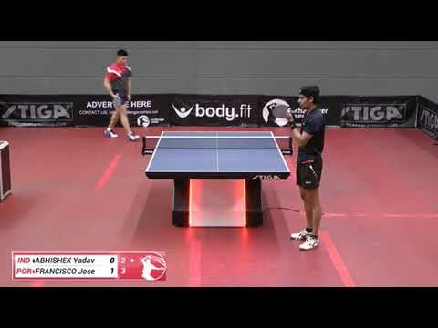 Yadav Abhishek Vs Jose Francisco (Challenger Series, April 5th 2019, Group Match)