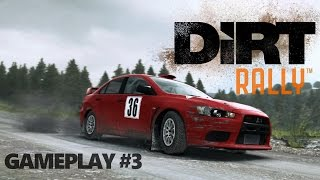 DiRT Rally - Gameplay #3 - November 2015 Update - New cars - No Commentary