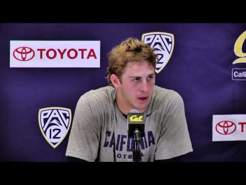 Cal Football: Jared Goff Press Conference (10/31/15)