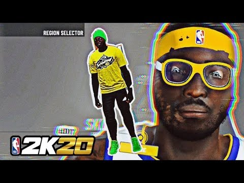*NEW* FIRST ACTUAL TAZ FACE SINCE 2K17 - NBA 2K20 FACE SCAN GLITCH 🤫