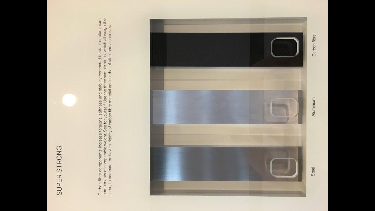 Carbon Fibre Compare Aluminium, Steel
