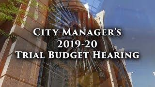 Community Budget Hearing Goelet A.C. Beuf Community Center   April 16, 2019