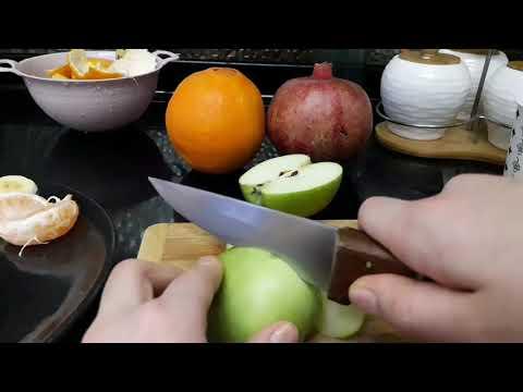 Meyve tabağı nasıl hazırlanır #Evettt😁😁
