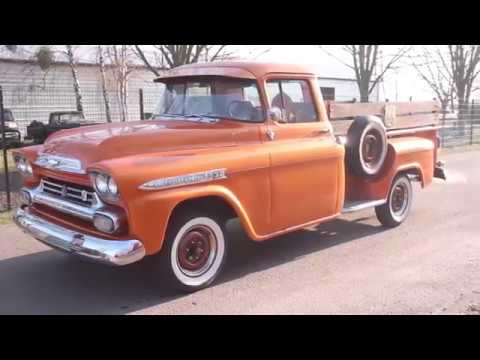 1959 Chevy Apache V8 307cui Car For Sale Youtube