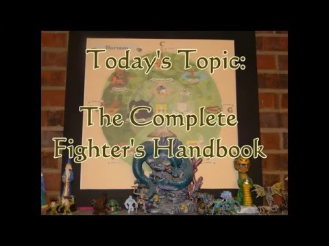 RPG Talk: Complete Fighter's Handbook Review for Advanced Dungeons & Dragons 2nd Edition
