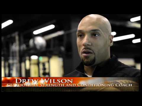CU Boulder Football Strength and Conditioning Coach Drew Wilson