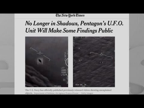 Pentagon's UFO unit to make some findings public