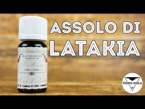 Assolo di Latakia by La Tabaccheria - RECENSIONE