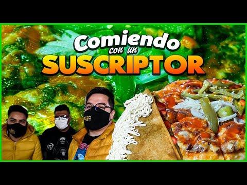 INVITE A UN SUSCRIPTOR a comer PIZZAS DE SUADERO y CREPAS GIGANTES en Neza