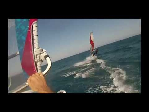 WINDSURFING cyprus Larnaca 2014